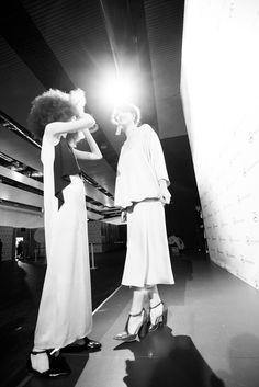Backstage de Mercedes-Benz Fashion Week Madrid (febrero 2015) © Juanlu Real