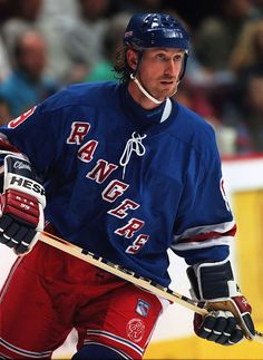"""Wayne Douglas Gretzky CC, ( January 26, 1961) is a Canadian former professional ice hockey player and former head coach.Nicknamed """"The Great One"""", he has been called """"the greatest hockey player ever"""" by many sportswriters, players, and the NHL itself."""