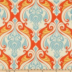 Waverly Sun N Shade Sea Scallop Coral Reef {I think it might be my favorite, and about twice as expensive as all the rest... GRRR} ($21.98 PER YARD)