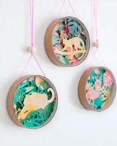 Diy Crafts Hacks, Diy Crafts For Gifts, Diy Home Crafts, Cute Crafts, Diy For Kids, Crafts For Kids, Paper Art, Paper Crafts, Creative Arts And Crafts