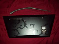 Harry Potter Noble Collection Bellatrix's Wand with Display Plaque   eBay