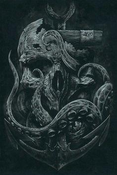 Skull of anchor
