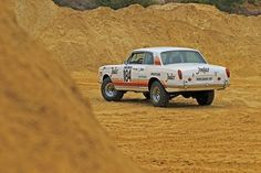 In a lifted Rolls-Royce Corniche was the talk of the Paris-Dakar Rally. Rolls Royce 4x4, Rolls Royce Corniche, Rally, Vehicles, Cars, Image, Automobile, Autos, Car
