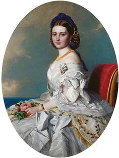 """Victoria, Princess Royal, Crown Princess of Prussia (1840-1901)"", Albert Graefle, 1863; Royal Collection Trust 405280"
