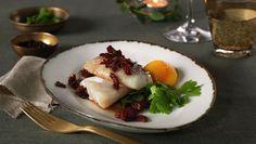 Torsk med egg og bacon