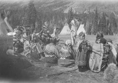 Blackfeet (Pikuni) group - no date
