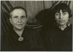 Gertrude Stein & Alice B Toklas The two presided over one of the most famous salons in Paris, and their home became a gathering place for avant-garde writers and artists. Stein helped to launch the careers of Henri Matisse and Pablo Picasso, among others, and she attempted to translate their experiments in art into writing