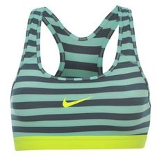 As ports bra so good you'll not want to wear anything else! Nike Pro Classic Stripe Bra.