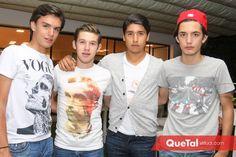 Jaime Ruiz, Óscar Mendizábal, Miguel Tobías y Sebastián Martínez .