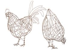 Poules ©Marie Christophe