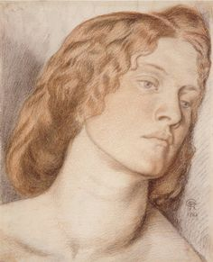 Dante Gabriel Rossetti's study for Fair Rosamund with Fanny Cornforth as the model