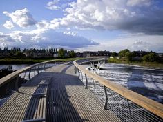 public space curved water channel - Google Search