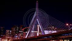 Zakim Bridge in Boston, Ma