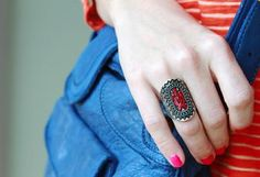 From That to This: Southwestern DIY Ring Redo | Paper