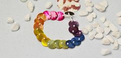 Pandahall Original DIY Project - How to Make Colorful Button Bracelets with White Seed Beads
