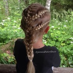 five french braids into one