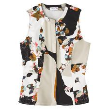 3.1 Phillip Lim for Target® Peplum Tank - Floral Print size M Medium Blouse NWT