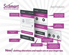 Almost all repairs and many clothing alterations can be organized on the SoSmart app. With SoSmart, you have options that are set out on the app, so that at the end of the working day, SoSmart doesn't leave you torn and tattered!