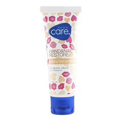 Avon Care Restoring Hand And Nail Cream - with glycerin, calcium and vitamin E