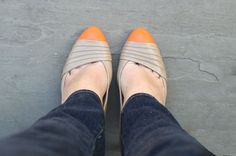 remarkably domestic blog...she paints shoes and makes great bracelets...