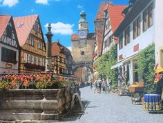 Rothenburg Germany