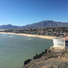 Con esta hermosa vista iniciamos el año en #SanFelipe Foto-aventura por mikeenz
