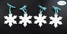 Snowflake ornament how to