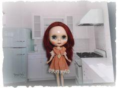 Blythe ~Aged Silk Dress ~ Vintage Inspired  by KarynRuby - pinned by pin4etsy.com