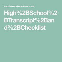 High%2BSchool%2BTranscript%2Band%2BChecklist Homeschool, Homeschooling