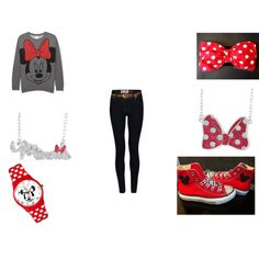 """Minnie Outfit !!"" by laurenbrown-14 on Polyvore"