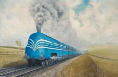 'Coronation Scot', 1938  Harry Watson (active 1953–2000)  Crewe Heritage Centre.17