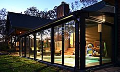 Pool ideas indoor outdoor retractable pool enclosure sun for Indoor pool with retractable roof