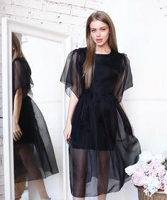 Simple Outfits, Simple Dresses, Pretty Dresses, Beautiful Dresses, Casual Dresses, Fashion Dresses, Long Slip Dress, V Dress, Sunday Outfits