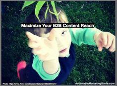 Social Media For B2B Content Marketing Distribution [Research] - http://360phot0.com/social-media-for-b2b-content-marketing-distribution-research/