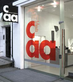 CAA | Bibliothèque Design  #design #inspiration #storefront  Check out SI Retail's Promotional Products for store front https://www.sishop.com.au/products-c-11/promotional-signage-c-11_54