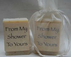 Bridal Shower Favor-Baby Shower Favors-Soap Party Favors-Wedding Favors- 24, 1 oz handmade soap favors -with organza bag on Etsy, $30.00