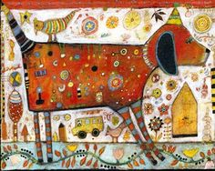 Sometimes Here Sometimes There: The Colorful Art of Jill Mayberg