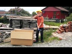 Fabulous short film! Great for learning about Imagination, Flexibile Thinking & Rock Brain- Adventures of a Cardboard Box (2011)