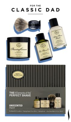 4a3ec103ed5f Father s Day Gift Inspiration  The Art of Shaving The 4 Elements of the  Perfect Shave