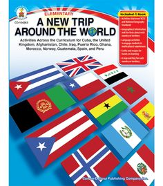 #CDWishList A New Trip Around the World Resource Book - Carson Dellosa Publishing Education Supplies