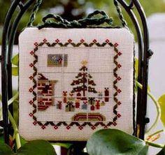 (2) Gallery.ru / Фото #103 - Ёлки и украшения - mornela Christmas Window Ornament 1/3