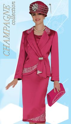 CS4207,Champagne Womens Church Suits Fall And Holiday 2014
