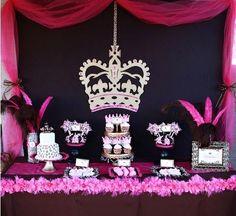 Este Leopard festa de aniversário da princesa