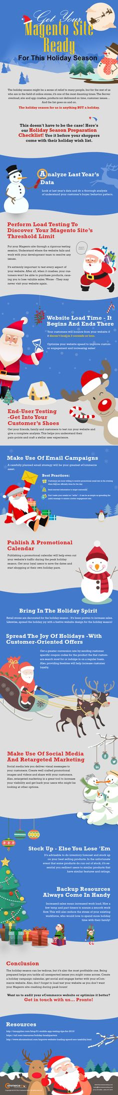 125 best vc other infographics images on pinterest info graphics get your magento site ready for this holiday season fandeluxe Gallery