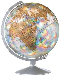 "globe of the world | The World Prism 12"" Desk Globe"