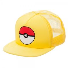 Pokemon Cap - Pokeball Blue Trucker (Team Instinct) df4a78090874