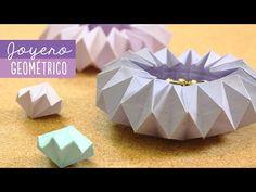 Joyero de origami - decora muy fácil | Craftingeek - YouTube