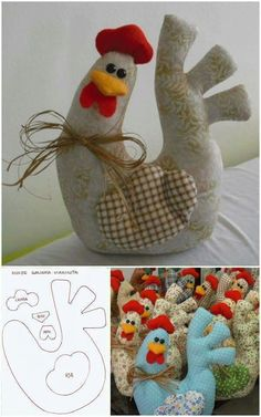 Amazing Home Sewing Crafts Ideas. Incredible Home Sewing Crafts Ideas. Felt Crafts, Easter Crafts, Crafts To Make, Fabric Crafts, Diy Crafts, Easter Ideas, Sewing Toys, Sewing Crafts, Sewing Projects