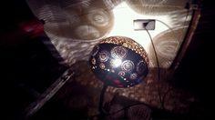 Lampara de calabaza/ Gourd lamp/ Su kabağı