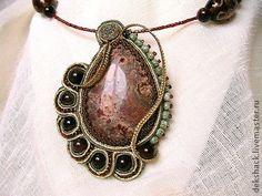 "Pendants handmade.  Fair Masters - handmade pendant ""Almond"".  Handmade."